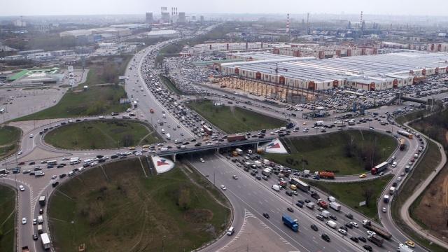 В Москвеизменен порядок оформления пропусков на МКАД