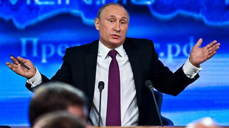 Путин рассказал о «Платоне» в ходе ежегодной пресс-конференции для СМИ
