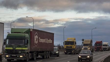 На границе Беларуси и Украины разблокирован проезд российских фур