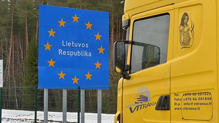 На 22 февраля самая большая очередь из фур на границе с Литвой – в «Котловке»