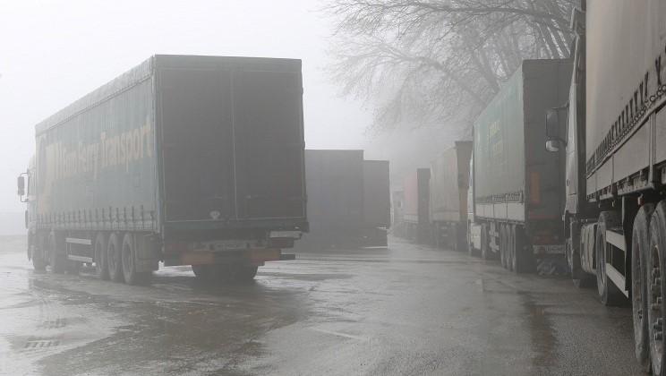 Минтранс: движение грузовиков между РФ и Украиной осуществляется беспрепятственно