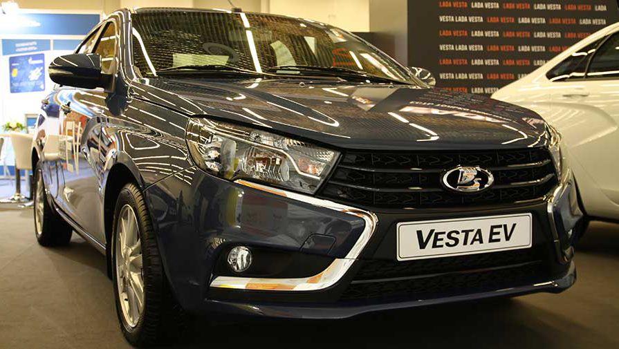 Электрическая Lada Vesta EV поступит в продажу в 2017 году