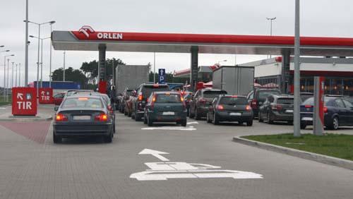 В Польше дешевеет бензин и дизтопливо, но дорожает автогаз