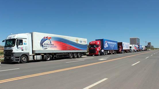 Участники автопробега «Китай - Монголия - Россия» рекомендовали оптимизировать процедуры пересечения границ