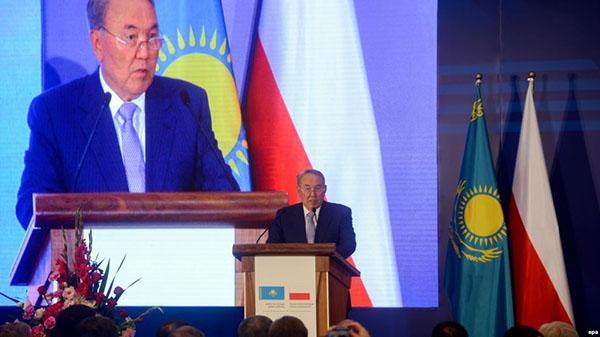 Назарбаев предложил президенту Польши заключить транспортное соглашение с Россией