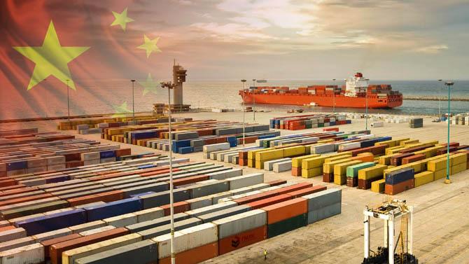 В июле этого года в Китае было отмечено замедление роста грузовых перевозок
