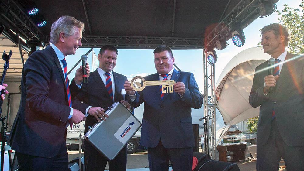Schmitz Cargobull презентовал в Беларуси авторизованный центр технического обслуживания