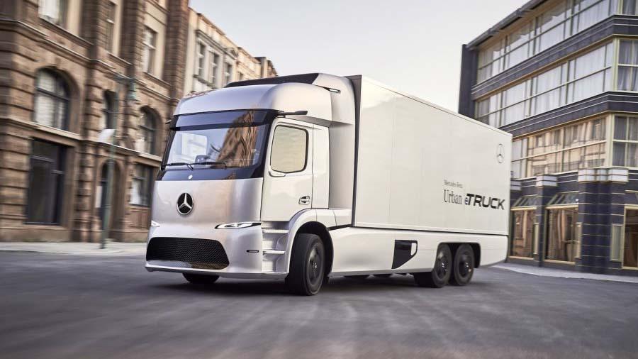 Daimler выпустил электрический грузовик Urban eTruck