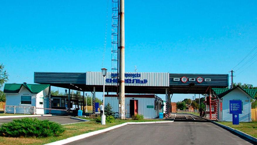 Движение транспорта через пункт пропуска «Невель» прекращено