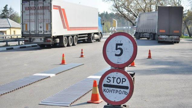 Украина закупит около 80 весовых комплексов для проверки грузовиков - премьер
