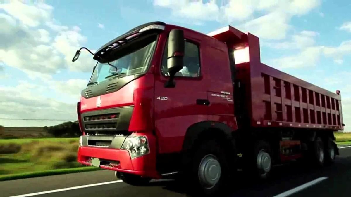 Новые грузовики Howo покажут на TIR'2016 в Киеве