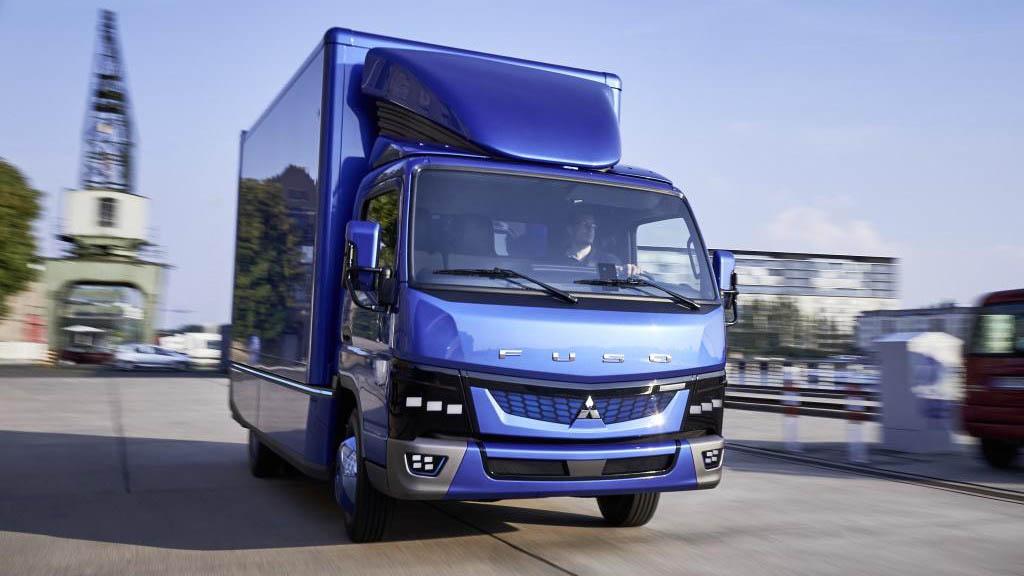 Mitsubishi eCanter: электрический грузовик идет в серию