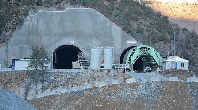 В Турции строится самый длинный тоннель в Европе