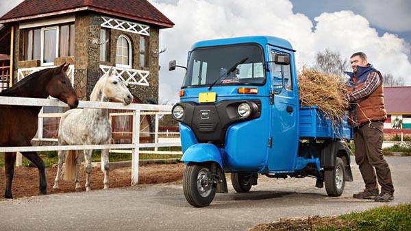 На российский рынок выходит грузовичок за 300 тыс. рублей