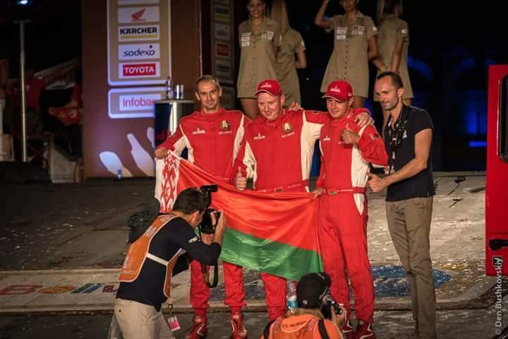 МАЗы стартовали в гонке за трофеи Дакара-2017