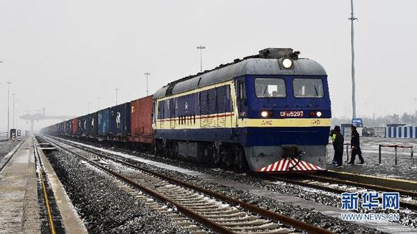 Китай пустил первый грузовой поезд в Великобританию