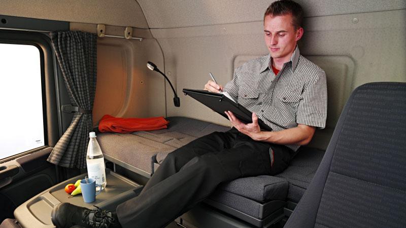 В Испании запретили отдыхать в кабинах грузовиков