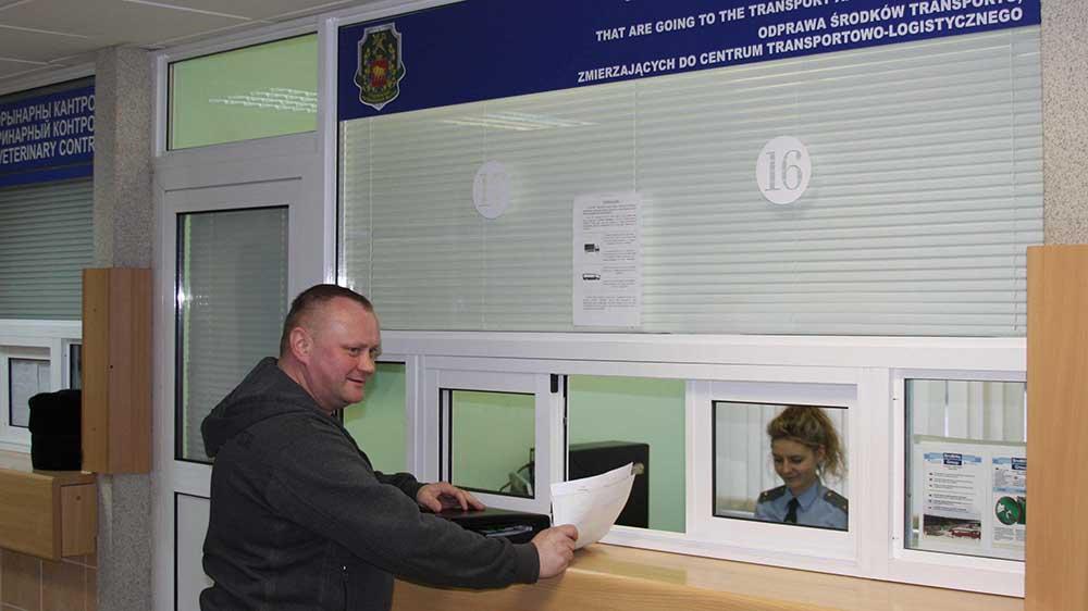 В Гродно продолжается эксперимент по «бестранзитной» технологии оформления грузов