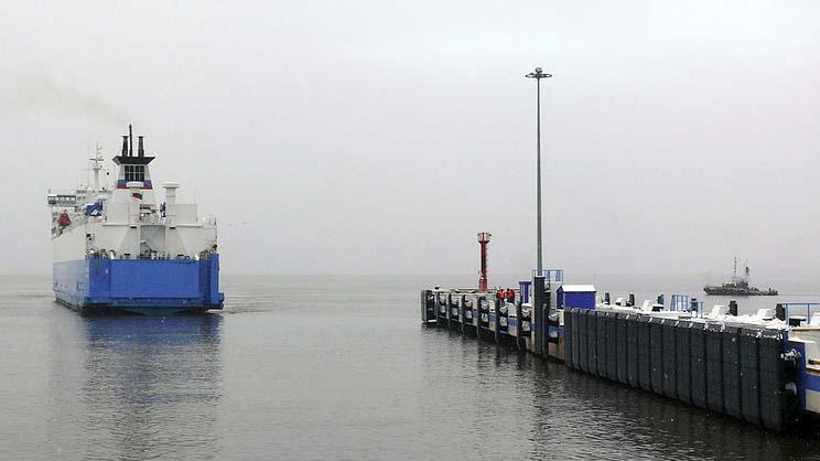 Россия и Германия могут возобновить паромные перевозки по маршруту Усть-Луга - Засниц