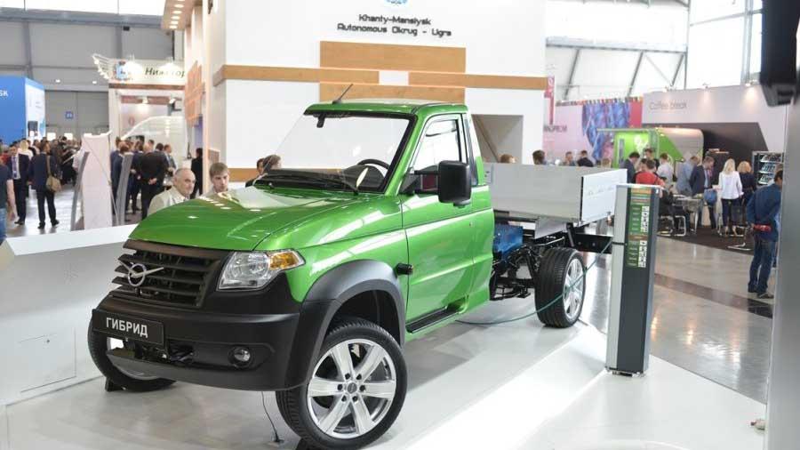 УАЗ будет выпускать гибридные грузовики