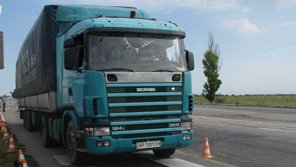 12 июля дальнобойщики проведут в Москве весовой эксперимент