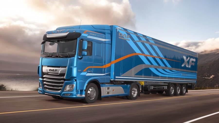 DAF представит новый грузовик стандарта Евро-6 на COMTRANS 2017