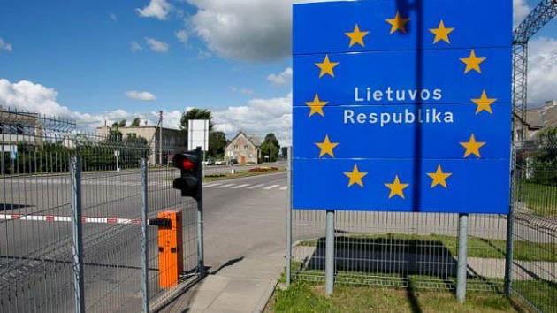 Литва изменит порядок пропуска в пограничную зону с Беларусью с 1 января
