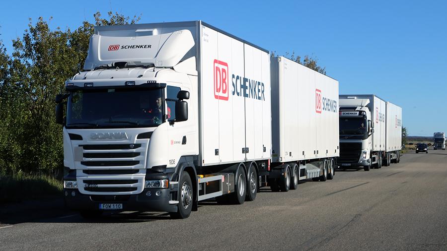 DB Schenker тестирует беспилотные колонны грузовиков Scania и Volvo в Швеции