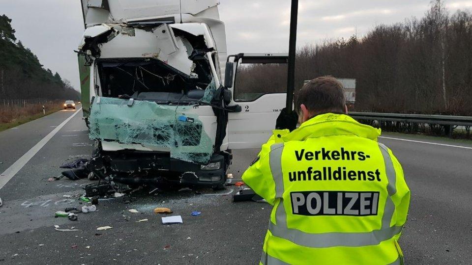 Дальнобойщик из Беларуси погиб в ДТП в Германии