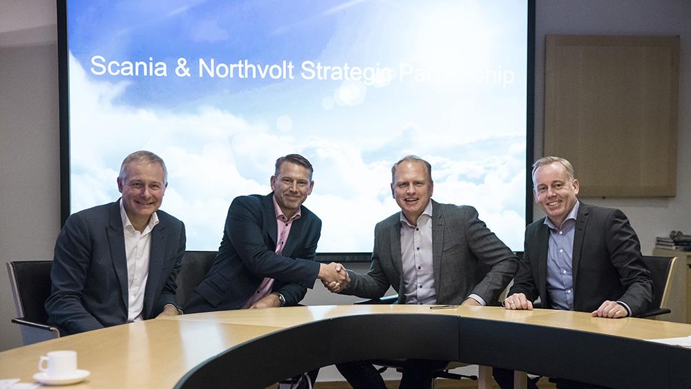 Scania и Northvolt запускают совместный проект в сфере электрификации тяжелой техники