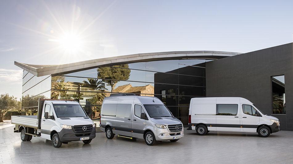 Mercedes-Benz представил третье поколение коммерческого семейства Sprinter