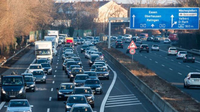 Города вГермании смогут закрывать въезд для дизельных машин