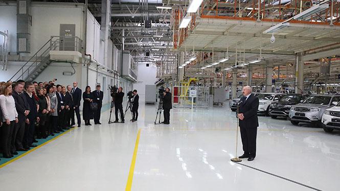 Официальная приемка завода «БелДжи» в эксплуатацию должна состояться до 15 июня