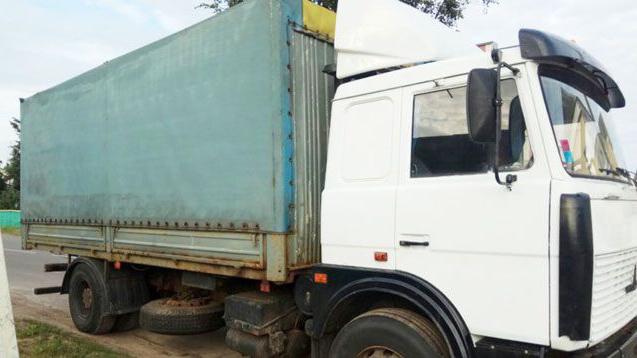 В Чечерском районе задержали два грузовика с более чем 20 т металлолома