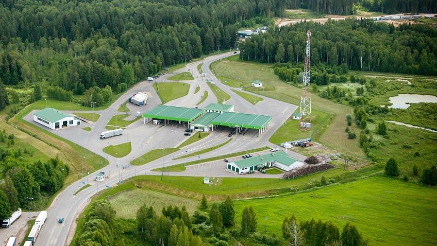Модернизованный пункт пересечения латвийско-белорусской границысдан в эксплуатацию