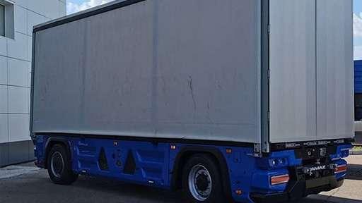 КАМАЗ презентовал беспилотный «грузовик будущего»