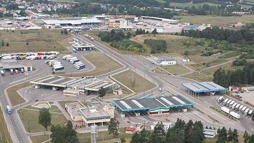 Завершена работа по реконструкции и модернизации автомобильного пункта пропуска Кузница