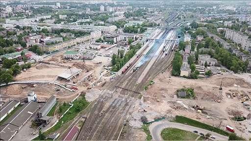 Завершилась реконструкция Полоцкого путепровода в Витебске