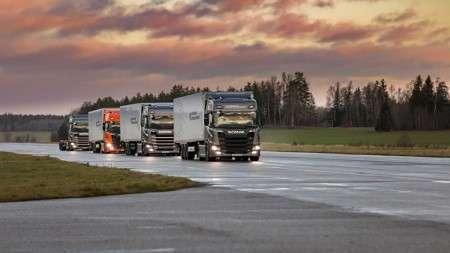 Scania выпустит новый электрогрузовик
