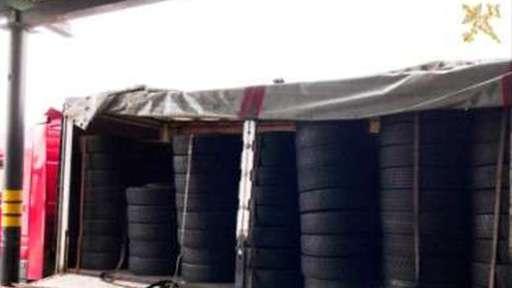 Витебские таможенники зафиксировали два случая незаконного ввоза б/у шин на территорию ЕАЭС