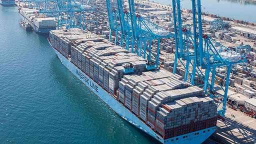 Холдинг HMM продает пакет акций TTI Algeciras и CMA CGM