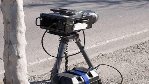 До конца лета трасса М5 будет под наблюдением передвижного скоростного радара