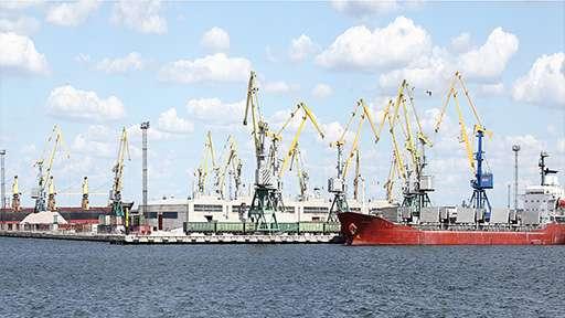 Первый «Зеленый порт»
