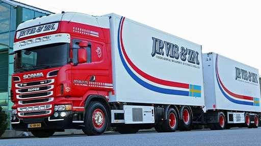 Грузовики-рефрижераторы размером 25 метров появились в Нидерландах