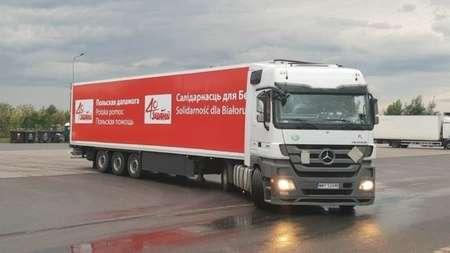 В ГТК РБ объяснили, почему не пропустили польский грузовик с гуманитарной помощью