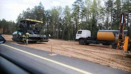 Наступила очередь реконструкции автодороги М3 Минск-Витебск