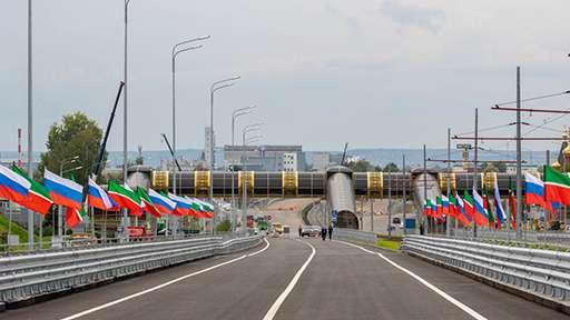 В столице Татарстана открыли первый участок Большого Казанского Кольца
