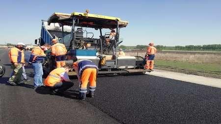 При ремонте дорог используются инновационные технологии