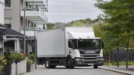 Инновационное решение для грузовика Scania P 220 предложили в Британии