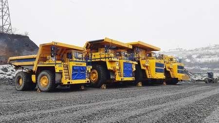Три 220-тонных «БЕЛАЗа» отправятся в Белгородскую область (РФ)